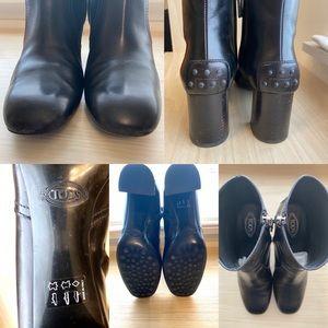 Tod's Shoes - TOD'S Block Heel Bootie